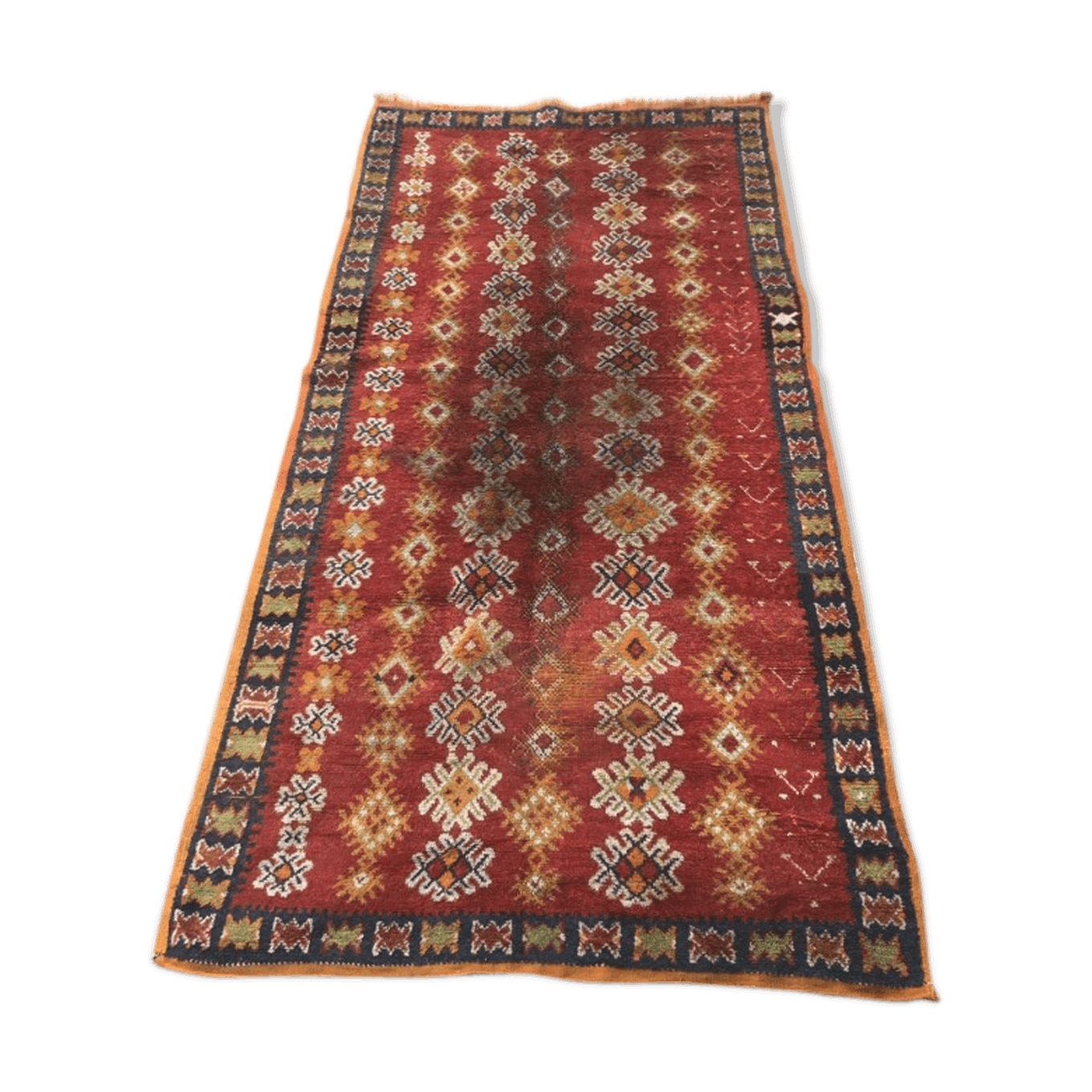 Antique moroccan berberien matto