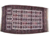 antiikki Turkmenistanin matto Balutch 88X146 cm