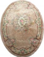 Tapis ancien chinois SAVONNERIE 153X244 cm